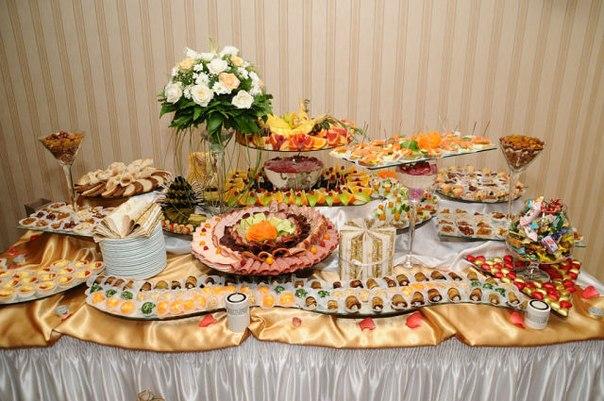 Фуршетный стол на свадьбу рецепты с фото своими руками 40